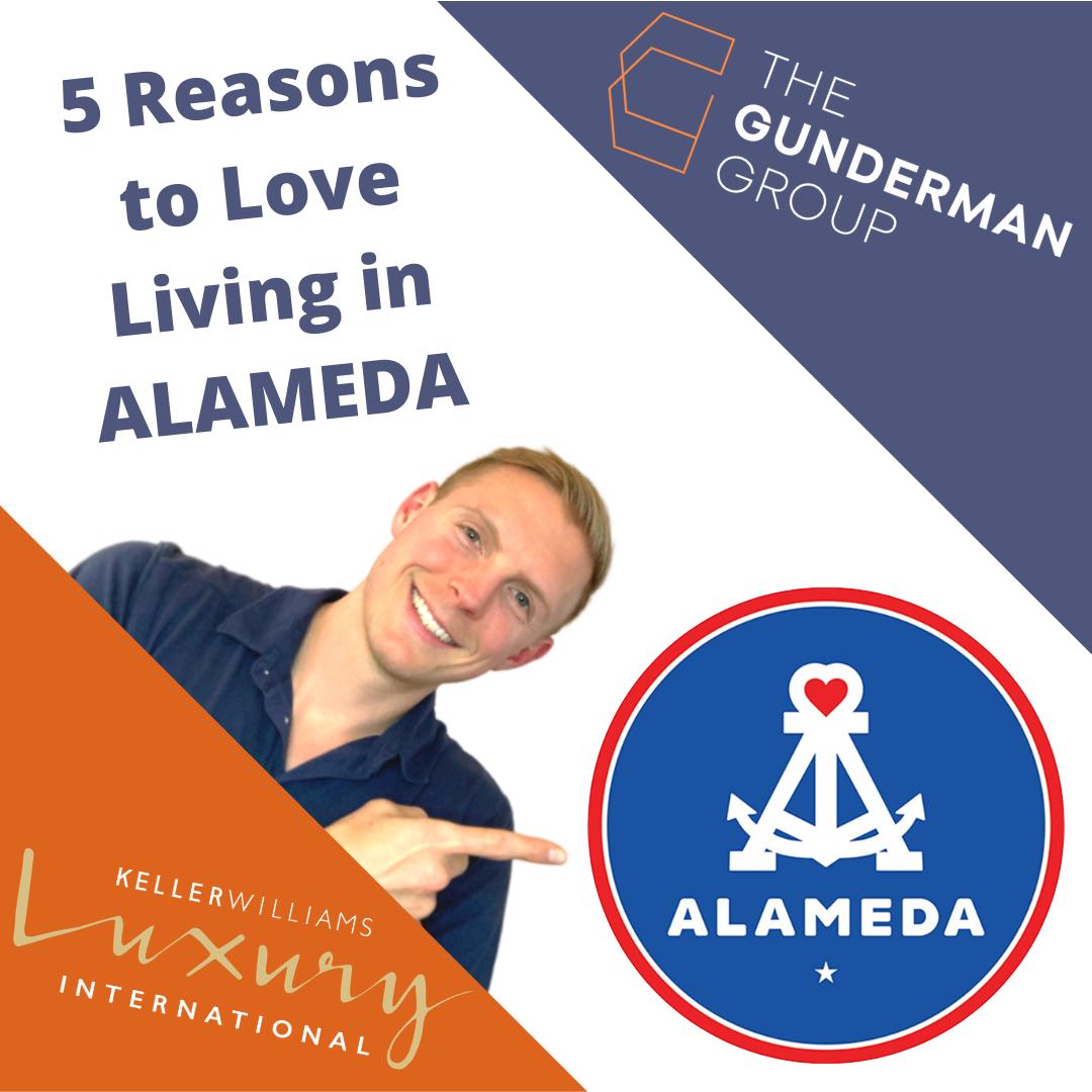 5 Reasons to love Alameda | TOP 5 Reasons to move to Alameda, CA | I love Alameda