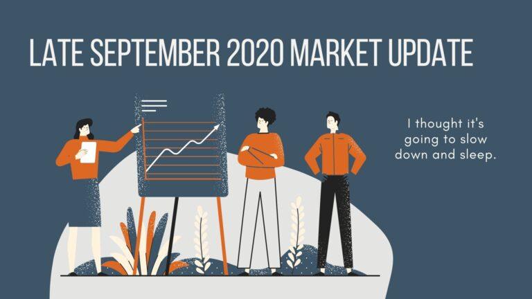 East Bay Real Estate Market Update | Late September 2020