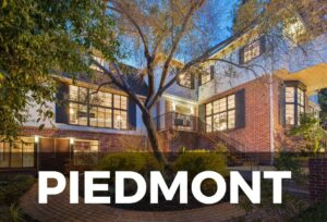 Bay Area Real Estate | Piedmont