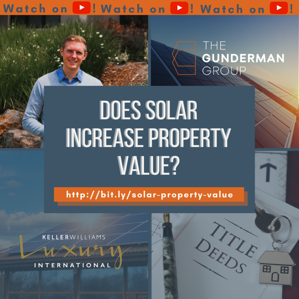 does solar increase property value?