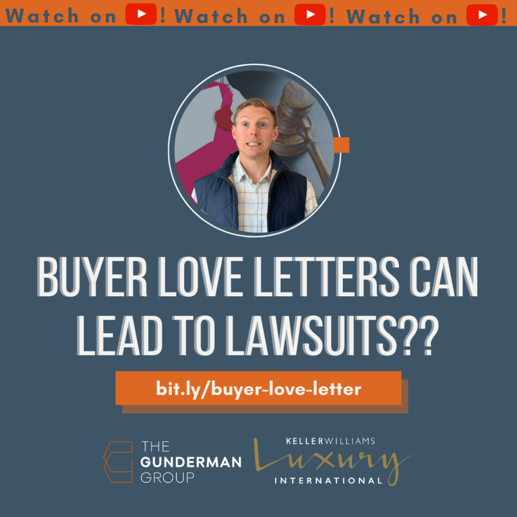 Buyer Love Letter can lead to lawsuit | Hans Struzyna