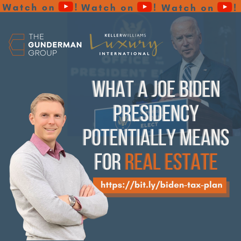 Joe Biden's Tax Plan | What it means for Real Estate