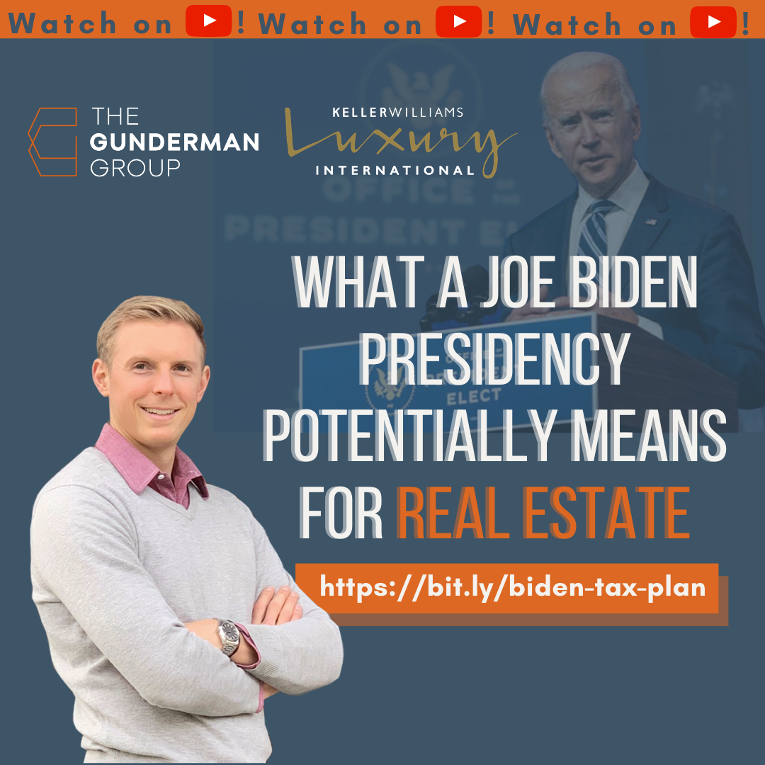 Joe Biden's Tax Plan | What It Potentially Means for Real Estate