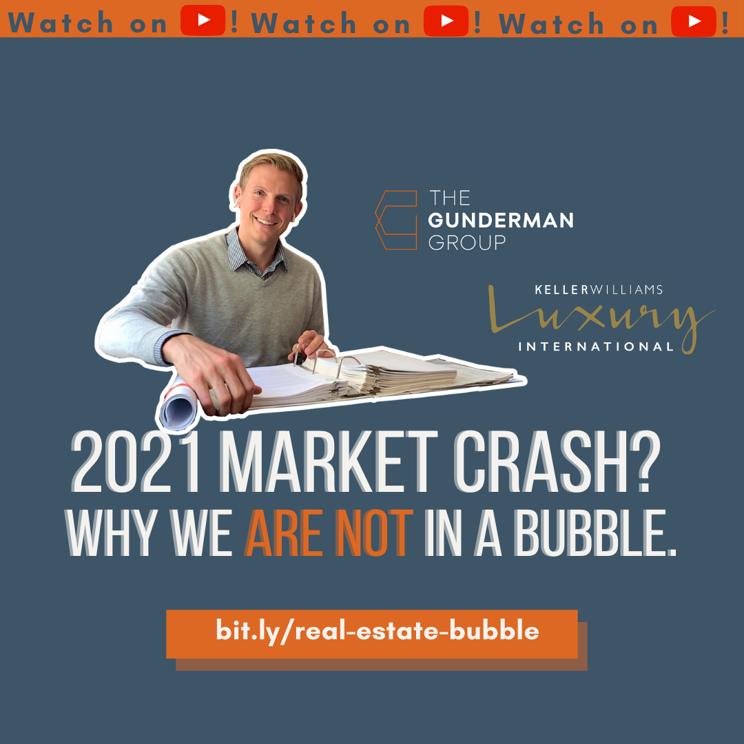2021 Market Crash? Why we ARE NOT in a housing bubble.