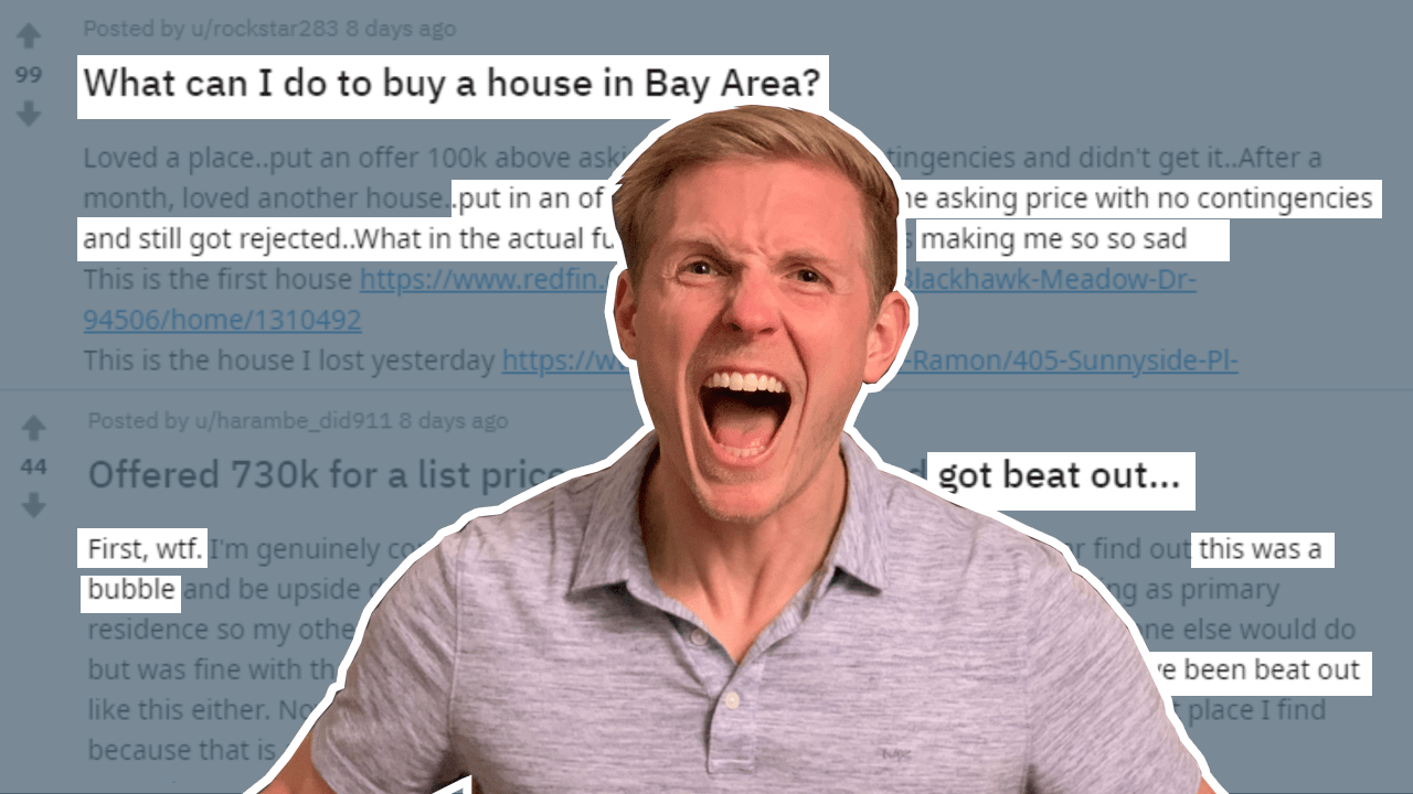 How To Buy A House In A Seller's Market [like Oakland]