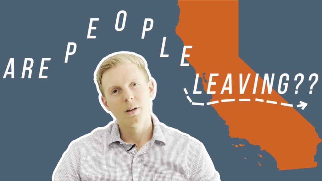 Are people leaving California en masse?