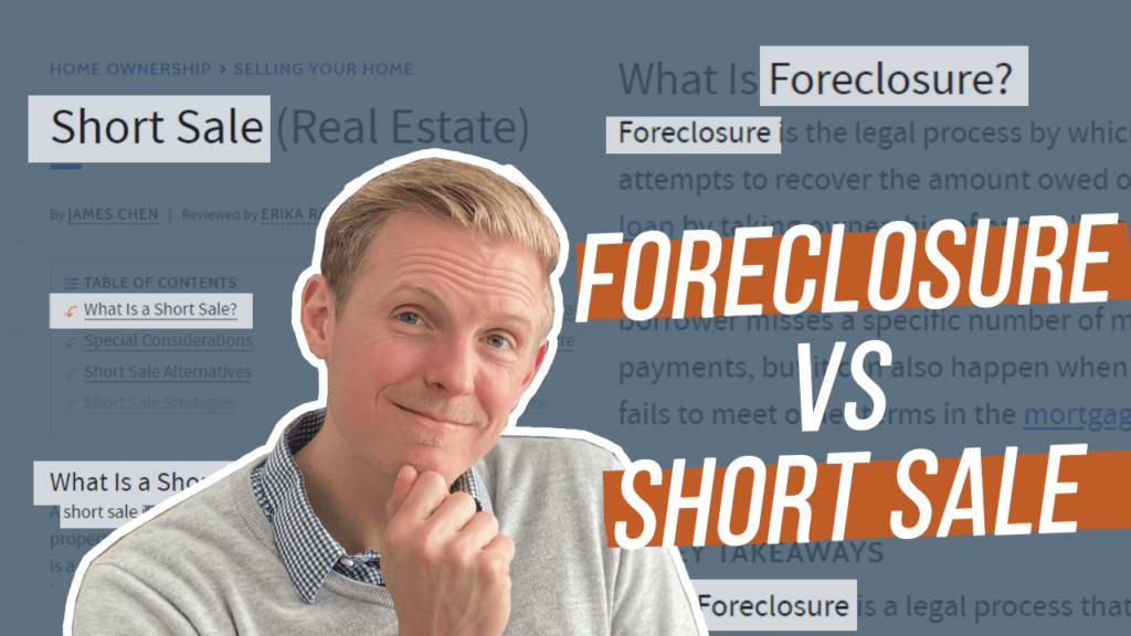 Short Sales versus Foreclosures thumbnail